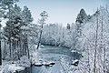 Alajoki towards south in Inari, Lapland, Finland, 2017 November.jpg