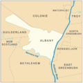Albany, New York Map plain.png