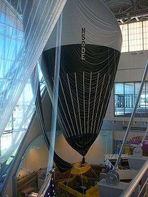 Anderson-Abruzzo Albuquerque International Balloon Museum - Interior exhibitions.
