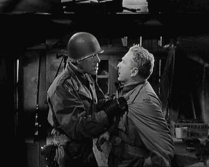 Attack (1956 film) - Lee Marvin and Eddie Albert