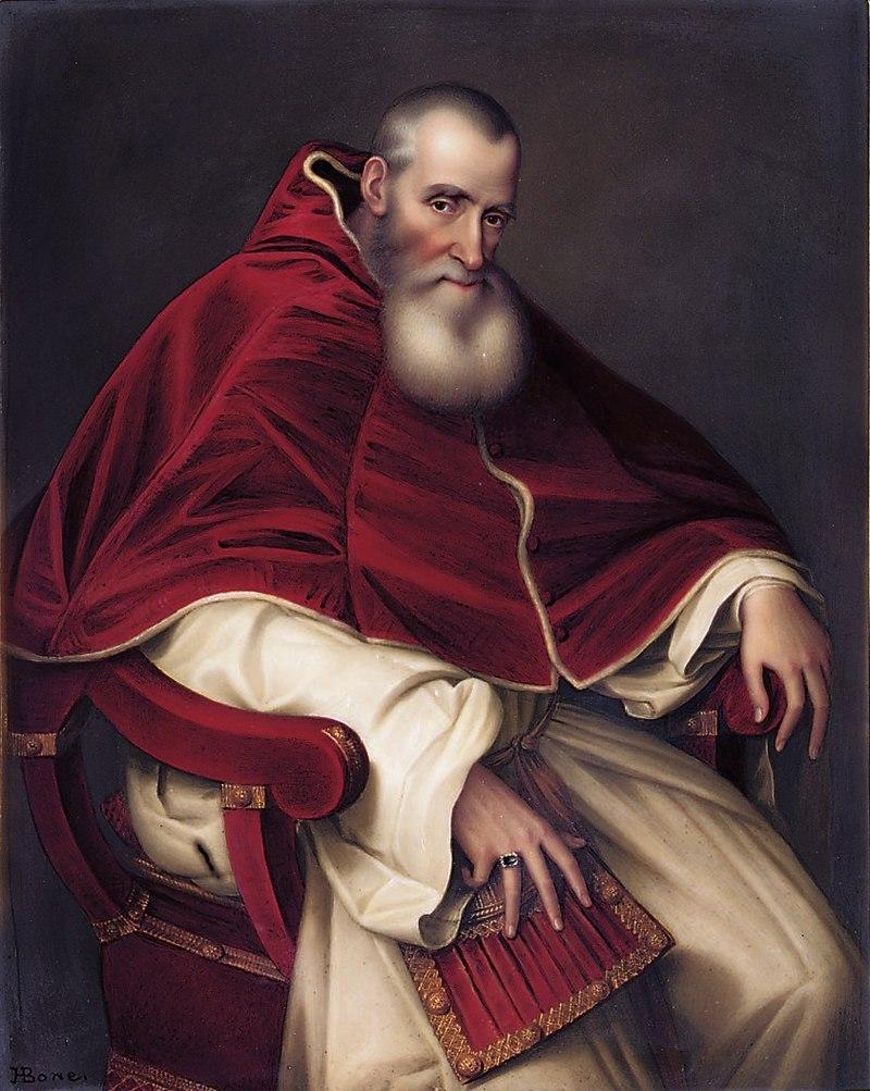 Алессандро Фарнезе (1468-1549), Папа Павел III (1534-1549) - Генрих Боун по Тициану.jpg