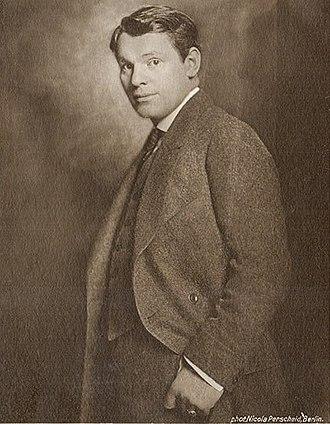 Aleksandër Moisiu - Alexander Moissi ca. 1920