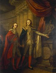 Portrait of Grand Dukes Alexander and Constantine