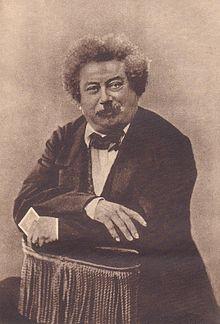 Αλέξανδρος Δουμάς, φωτογραφία του Nadar