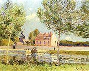 Lukisan karya Alfred Sisley