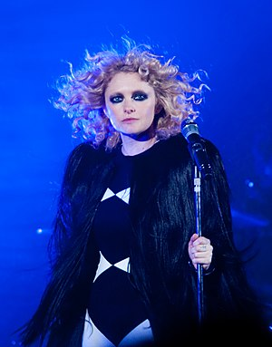 Goldfrapp - Goldfrapp performing live in 2010.