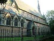 The Church of All Saints, Urmston, is a Grade I listed building.