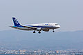 All Nippon Airways ,NH1712 ,Airbus A320-211 ,JA8395 ,Arrived from Sapporo ,Kansai Airport (16809160312).jpg