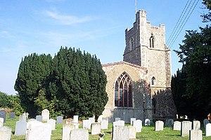 Holbrook, Suffolk - Image: All Saints, Holbrook geograph.org.uk 119720