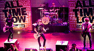 All Time Low - All Time Low on the AP Tour, at the House of Blues in Chicago, 2008