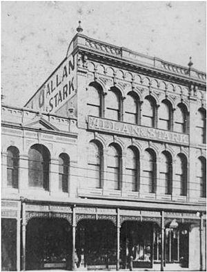 Allan and Stark Building - Allan and Stark drapery store, circa 1910