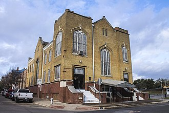 Allen Chapel AME Church (Fort Worth, Texas) - Image: Allen Chapel AME Church