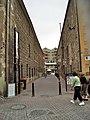 Alley off Salamanca Place, Hobart, Tasmania - panoramio.jpg