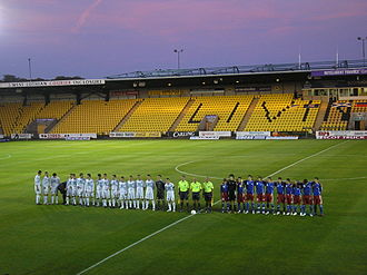Almondvale Stadium - Image: Almondvale Stadium