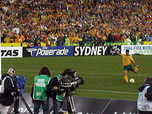 2006 FIFA World Cup qualification (CONMEBOL–OFC play-off) - John Aloisi taking the decisive penalty