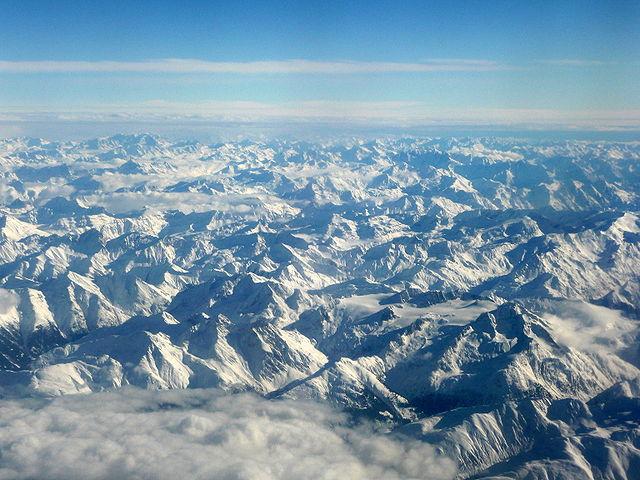 Alpy - výsledok horotvornej činnosti