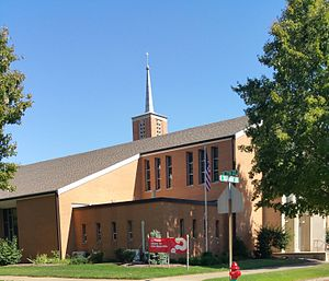 Alpha course - Alpha course sign displayed at Saint Joseph Catholic Church in Dover, Ohio