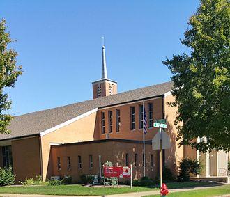 Alpha course - Alpha course sign displayed at Saint Joseph Catholic Church in Dover, Ohio