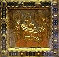 Altare di s. ambrogio, 824-859 ca., fronte dei maestri delle storie di cristo, 10 natività.jpg