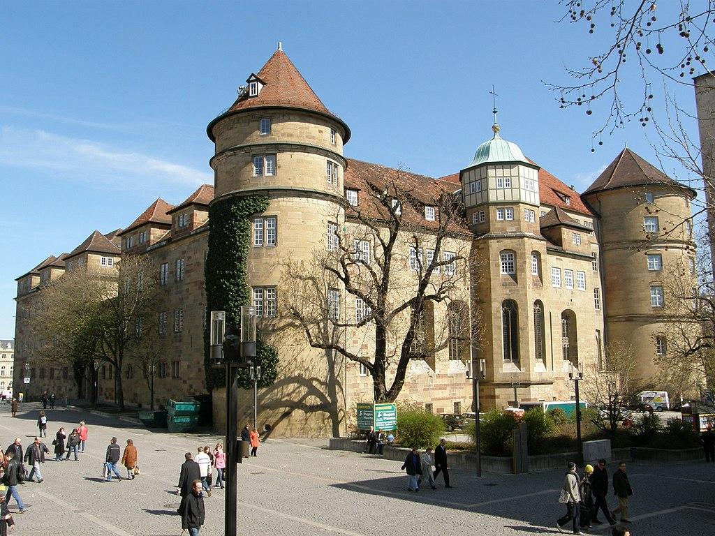 From Schlossplatz