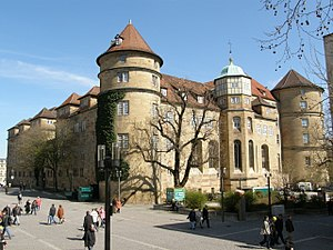 Old Castle (Stuttgart) - From Schlossplatz