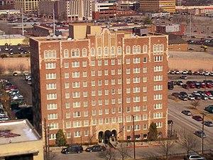National Register of Historic Places listings in Tulsa County, Oklahoma - Image: Ambassador Hotel, Tulsa