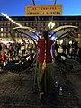 Ambiente mágico y surrealista en La Plaza Mayor, convertida en feria del pasado 06.jpg