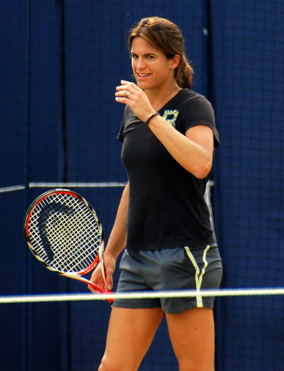 Amelie Mauresmo at the Aegon Championships 2014