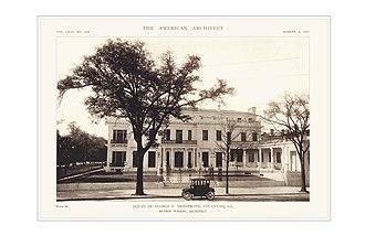 Armstrong Kessler Mansion (Savannah, Georgia) - Image: American Architect Armstrong Mansion
