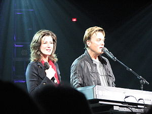 Michael W. Smith - Amy Grant (left) and Michael W. Smith (right) have gone on several concert tours together