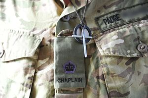 Royal Army Chaplains' Department - The insignia of a Chaplain to the Forces 3rd Class.