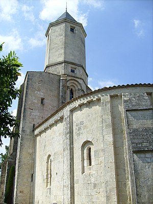 Saint-Palais-sur-Mer - Image: Ancienne église Saint Pallais