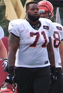 alt=Description de l'image Andre Smith (offensive tackle) 2013.jpg.