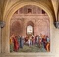 Andrea del Sarto, liberazione di un'indemoniata, 1509-1510, 01.jpg