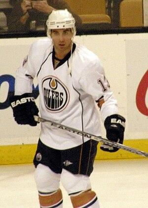 Andrew Cogliano - Cogliano with the Oilers in 2009.