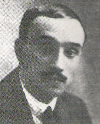 Racing de Santander - Ángel Sánchez Losada, first president of the club.