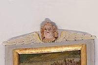 Angel head on painting of Saint Antony San Antone church Urtijëi.jpg