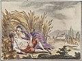 Année galante ou Étrenne à l'amour, 1773 - Aoust.jpg