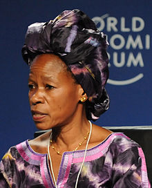 Anna Tibaijuka - World Economic Forum on Africa 2010.jpg