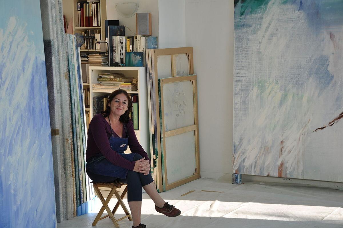Anne slacik wikip dia for Artiste peintre narbonne