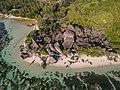 Anse Source d'Argent Luftbild La Digue Seychellen (24748770127).jpg