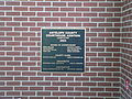 Antelope County Courthouse (Nebraska) 2003 addition plaque.JPG