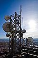 Antennas of Žižkov broadcasting tower - ČRa photo.jpg