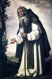 Anthony Abbot by Zurbaran