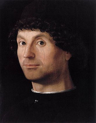 Male portraits by Antonello da Messina - c.1475 (Madrid)
