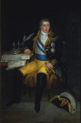 Manuel Godoy - Godoy in 1807, by Carnicero