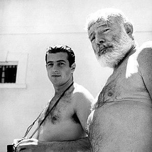 Antonio Ordóñez - Antonio Ordóñez and Ernest Hemingway, in Málaga, 1959