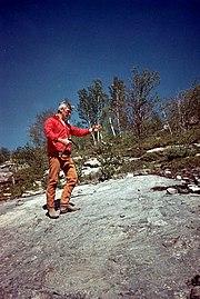 Apollo 17 - Gene Cernan training in Sudbury