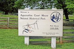 Appomattox entrance sign.jpg