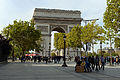 Arc de Triomphe de lÉtoile 7 October 2012.jpg